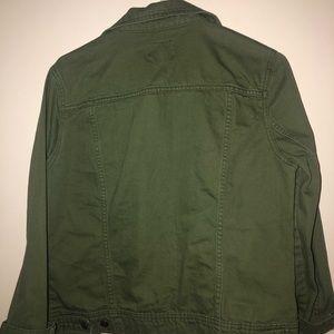 Old Navy Jackets & Coats - green jean jacket